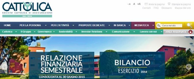"""Cattolica Assicurazioni, multa Antitrust: """"Pratiche aggressive per recupero crediti"""""""