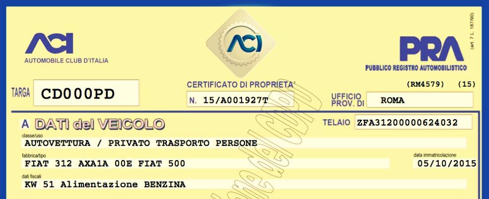 Certificato di proprietà digitale, Unasca: 'Carta aumentata, ci guadagna solo l'Aci'