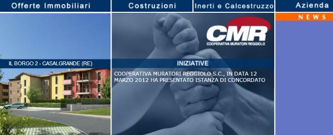 Legacoop e le promesse non mantenute ai soci prestatori della Cmr di Reggiolo