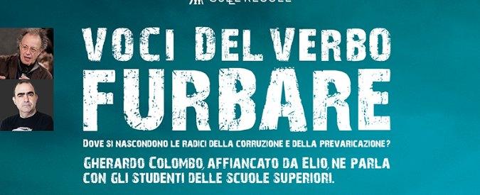Corruzione e legalità, Gherardo Colombo ed Elio fanno lezione a 21mila studenti