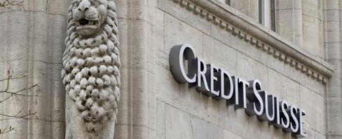 Credit Suisse, nel 2015 rosso da 2,6 miliardi di euro. E' il primo dal 2008