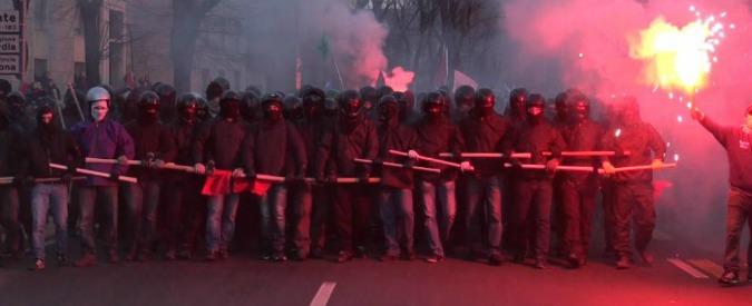 Cremona, devastazioni al corteo antifascista di gennaio: tre arresti, un ricercato