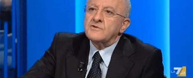 """De Luca, chiesta l'assoluzione del governatore nel processo Sea Park. Pm: """"Non è stato commesso alcun reato"""""""