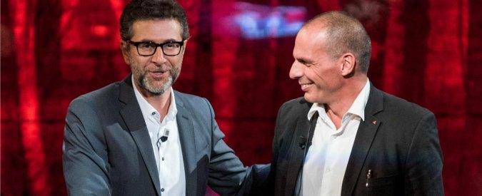 Rai a Fico sui compensi degli ospiti di Fazio: tutto regolare per i 24 mila euro all'ex ministro Varoufakis
