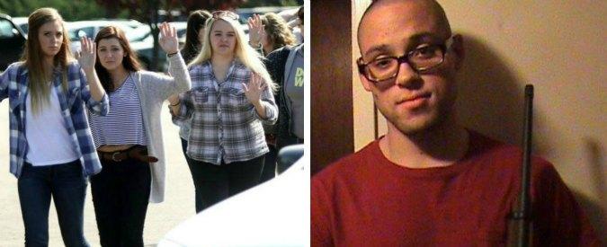 """Usa, strage al college nell'Oregon. La polizia: """"il killer si è suicidato"""""""