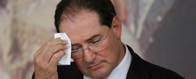 Giancarlo Galan, negli anni dell'arresto ha totalizzato un reddito imponibile di 208.897 euro