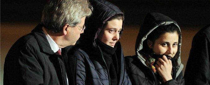 """Greta e Vanessa, """"pagati 11 milioni di euro per il riscatto delle due cooperanti"""""""