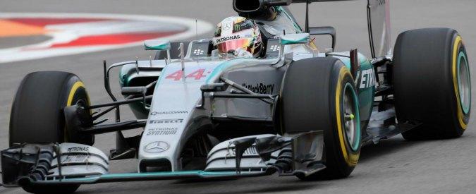 Formula 1, Gp Sochi: vince Hamilton. Out Rosberg. Ottimo secondo posto per Vettel