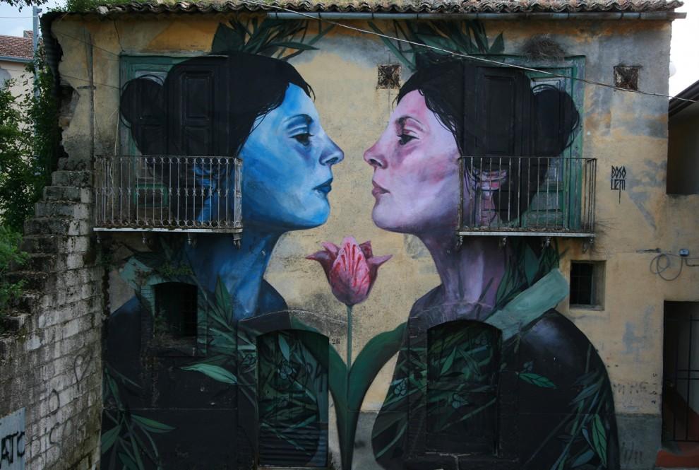 Artist: Francisco Bosoletti – Argentina Place: Bonito, Avellino, Italia Project: BOCA – BONITO CONTEST ART. Foto di David Ardito