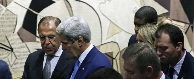 """Siria, Usa e Russia: """"Avviare incontri per scongiurare un'escalation fuori controllo"""""""