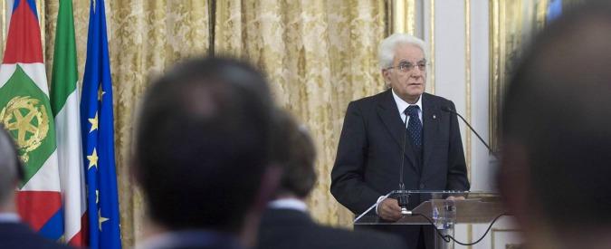 """Banche, Mattarella: """"La vigilanza di Bankitalia è preziosa e fondamentale"""""""