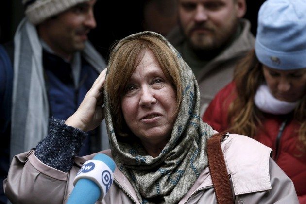 Premio Nobel 2015, Svetlana Alexievich vince il premio per la Letteratura