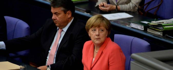 Germania, governo Merkel riduce stime di crescita per il 2015 da 1,8 a 1,7%