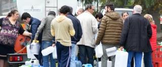 """Messina senz'acqua, sindaco: """"Condotta riparata. In tarda mattinata normalità"""""""