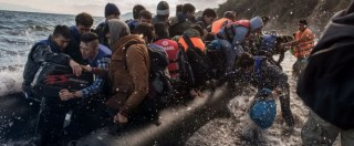 Migranti, Oim: '31mila arrivi in Grecia in 18 giorni. Italia, subsahariani raddoppiati'