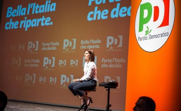 Vicenza, Renzi con la candidata alla presidenza della regione Veneto