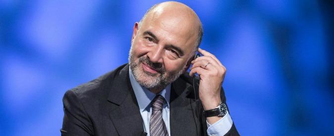 """Conti pubblici, Moscovici avverte: """"Sì a taglio tasse solo se Renzi riduce spesa"""". Ma la spending review perde quota"""