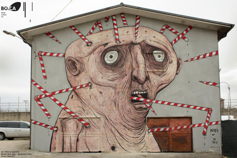 Artist: NemO'S Place: Bonito, Avellino, ItaliaProject: BOCA – BONITO CONTEST ARTFoto di David Ardito