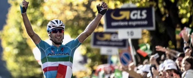 Giro di Lombardia 2015, Vincenzo Nibali trionfa e dedica la vittoria alla moglie
