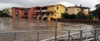 Maltempo in Sardegna, a Olbia esonda Siligheddu: case evacuate e strade chiuse