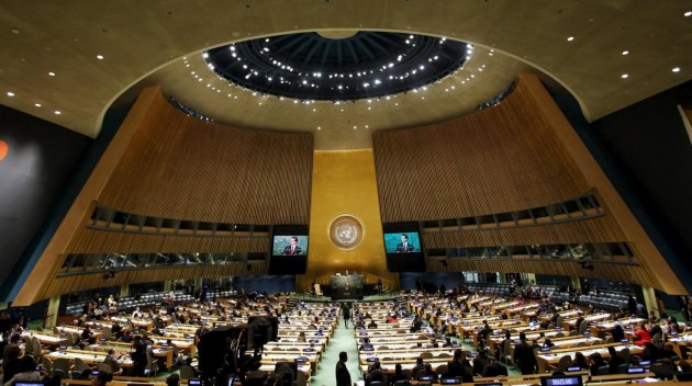 New York, assemblea generale dell'ONU