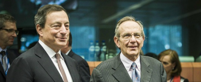 Crollo banche, Padoan punta il dito contro la Bce, ma dimentica il ruolo della Consob