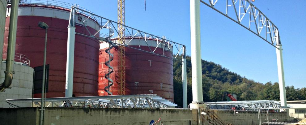 Biometano, ora il gas si fa dall'umido di casa. Visita al primo impianto in Italia