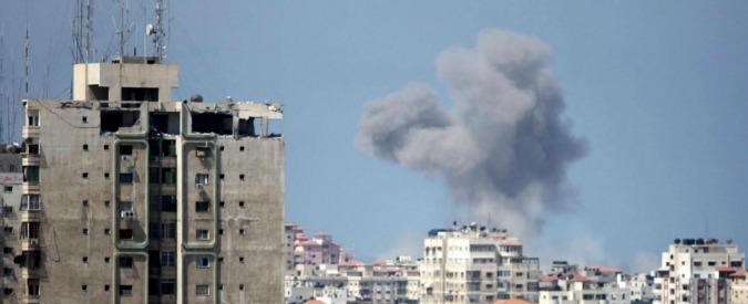 Gaza, raid israeliano su obiettivi di Hamas. Uccise una donna e una bambina