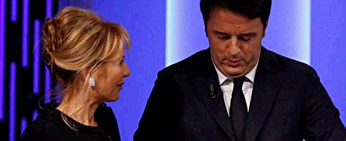 """Renzi: """"La dico berlusconianamente: meno tasse per tutti. Verdini in maggioranza? Ora no, ma da qui al 2018…"""""""