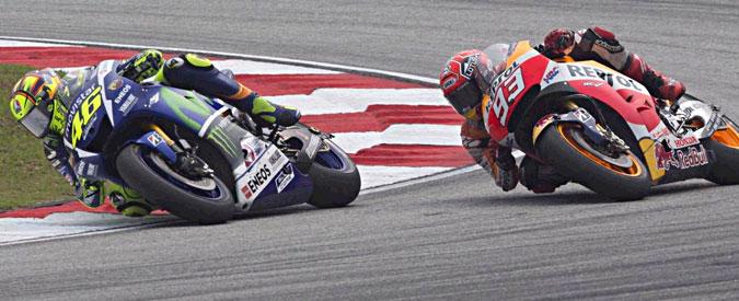 """Motogp, la Honda accusa ancora Rossi: """"Il calcio a Marquez è stato volontario"""""""