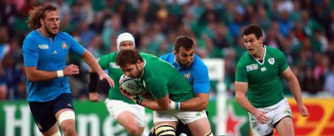 Mondiali Rugby 2015, l'Italia è bella ma è fuori. Finisce 16 a 9 con l'Irlanda