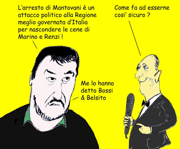salvini complotto