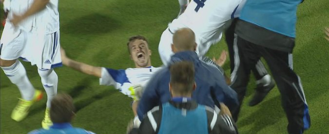 San Marino racimola un punto dopo 10 anni, va in gol dopo 2 e segna in trasferta dopo 14. Vitaioli è l'eroe-operaio
