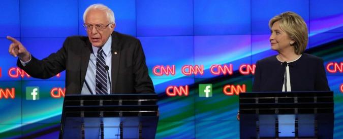 Elezioni Usa 2016, confronto tv tra democratici: Clinton la spunta su Sanders