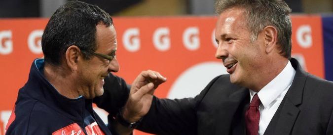Maurizio Sarri e Sinisa Mihajlovic, la sliding doors da incubo per il Milan (e da sogno per il Napoli)