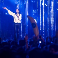 Ylenia, Marco Comollo sul palco degli MTV Awards 2015, piazza Duomo – Milano