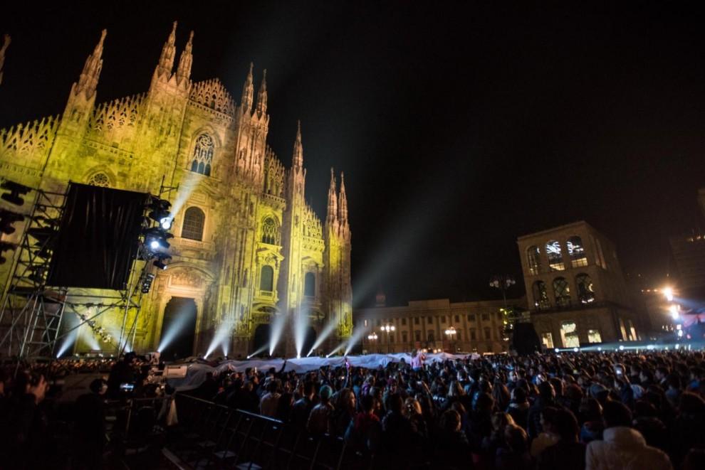 Piazza Duomo, MTV World Stage 2015