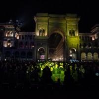 Dal palco degli MTV Awards in piazza Duomo