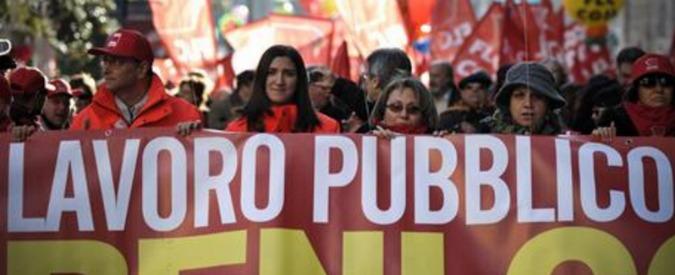 """Stipendi dipendenti pubblici, azione collettiva contro il blocco. """"Lo Stato restituisca 100 euro al mese"""""""