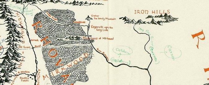 """Tolkien, ritrovata la mappa della Terra di Mezzo: """"Minas Tirith ispirata a Ravenna"""""""