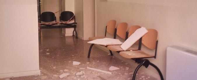 Tribunale di Bologna, crollo del controsoffitto: ferita un'avvocatessa
