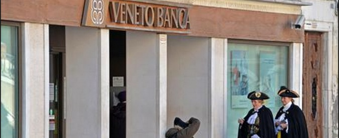 Veneto Banca, l'amara beffa ai soci che perdono l'81% dei risparmi e non hanno diritto al recesso