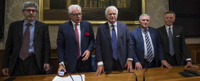 """Riforme, i verdiniani che dicevano: """"Renzi si fermi, l'iter è un orrore"""". Solo 5 su 13 dissero sì, oggi blindano la legge"""