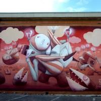 """2° Edizione del """"Premio Antonio Giordano per il writing e la street art""""  – """"L'artista, come l'uomo universalmente, sopravvive solo se sostenuto da grandi idee"""" (ZED1).  Foto di Marianna Giordano"""