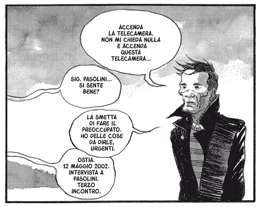 'Pasolini' – Davide Toffolo