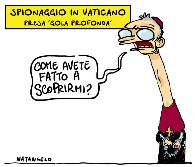 Vaticano, preso Gola Profonda