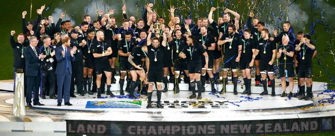 Mondiali di Rugby, tra i campioni All Blacks c'è il sorrentino Luke Romano