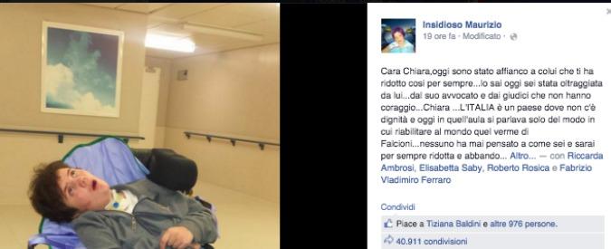 """Chiara Insidioso, """"Lotta a violenza su donne solo a parole"""". Dopo la sentenza il padre accusa e pubblica le foto"""