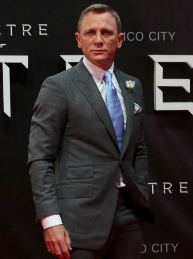 """Spectre, Daniel Craig è ancora una volta il volto di James Bond: """"Negli ultimi due anni ho respirato, mangiato, bevuto e dormito come fossi 007"""""""