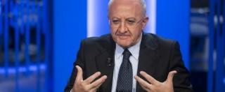 """Vincenzo De Luca di nuovo sotto inchiesta: """"Falso in atto pubblico"""". Con lui il capo segreteria e 4 consiglieri regionali"""